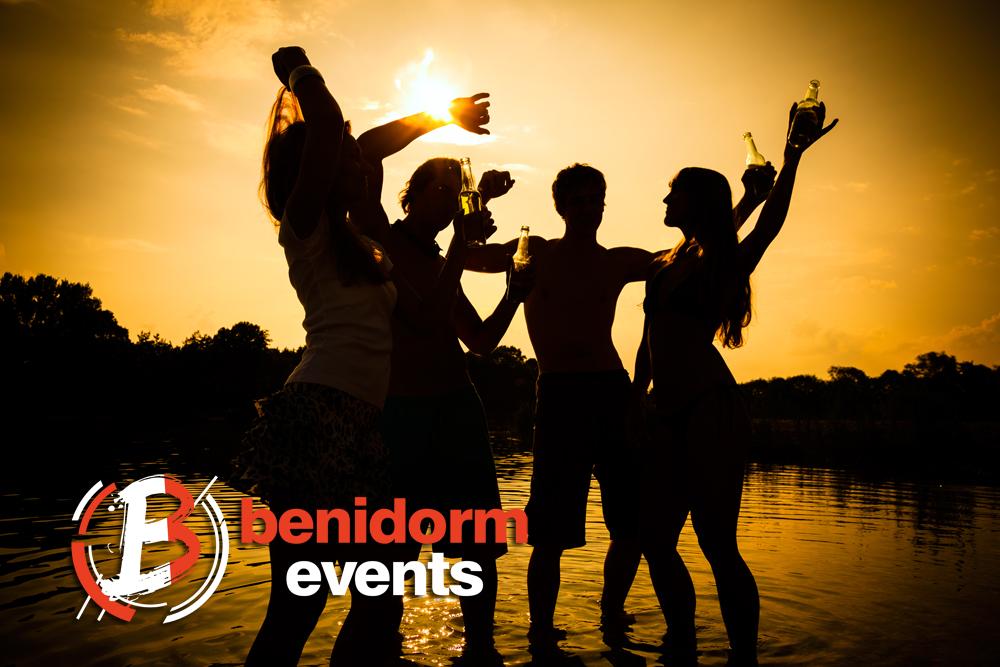 sunset party benidorm